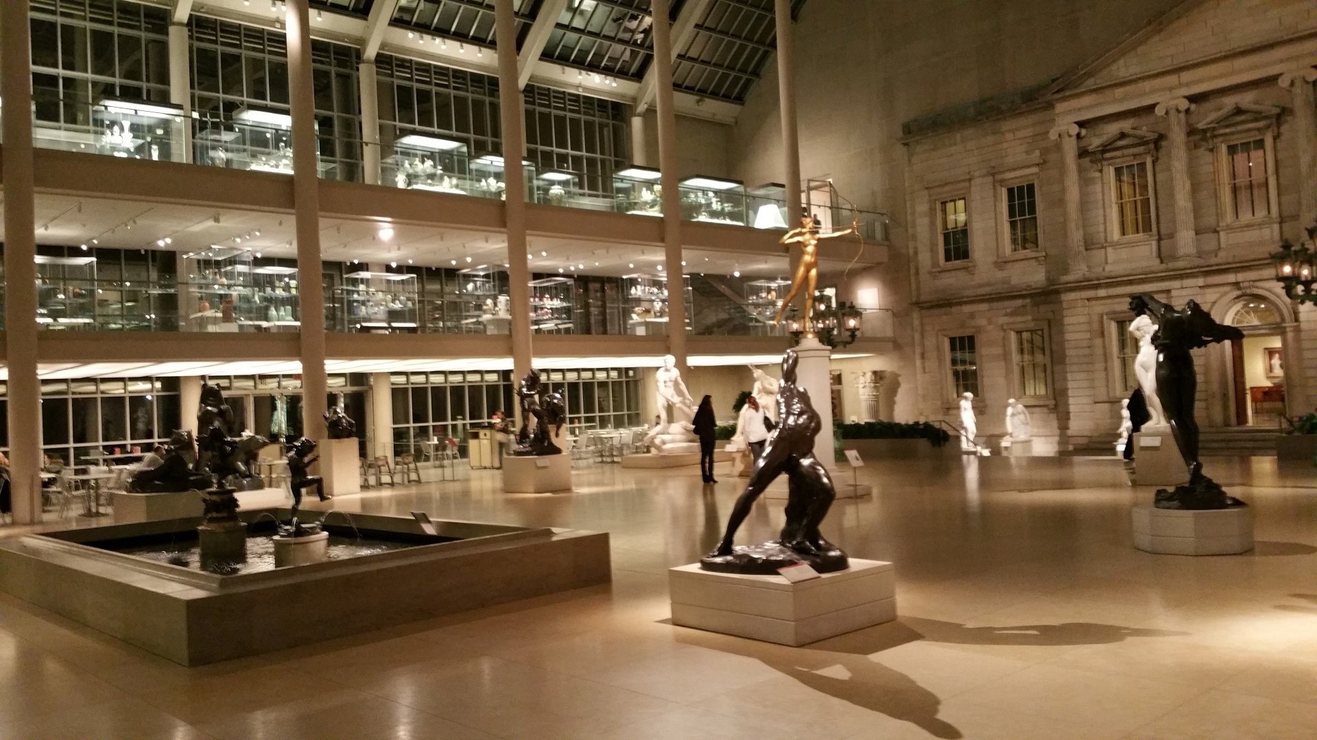 a day relaxing at the metropolitan museum of art After hours of exploring relax by a fountain in the indoor for the day on this vip tour the museum feels so at the metropolitan museum of art.