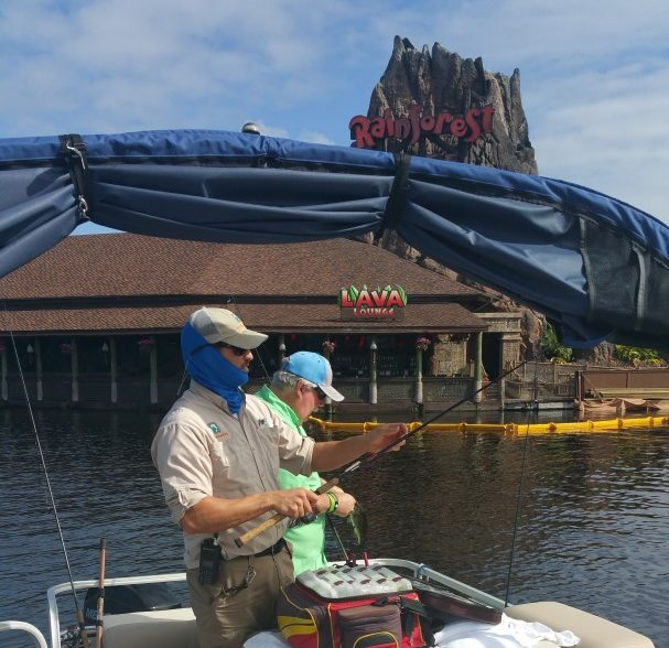 Fishing at disney world a guided tour through disney springs for Fishing at disney world