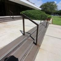 The railing looks the same.