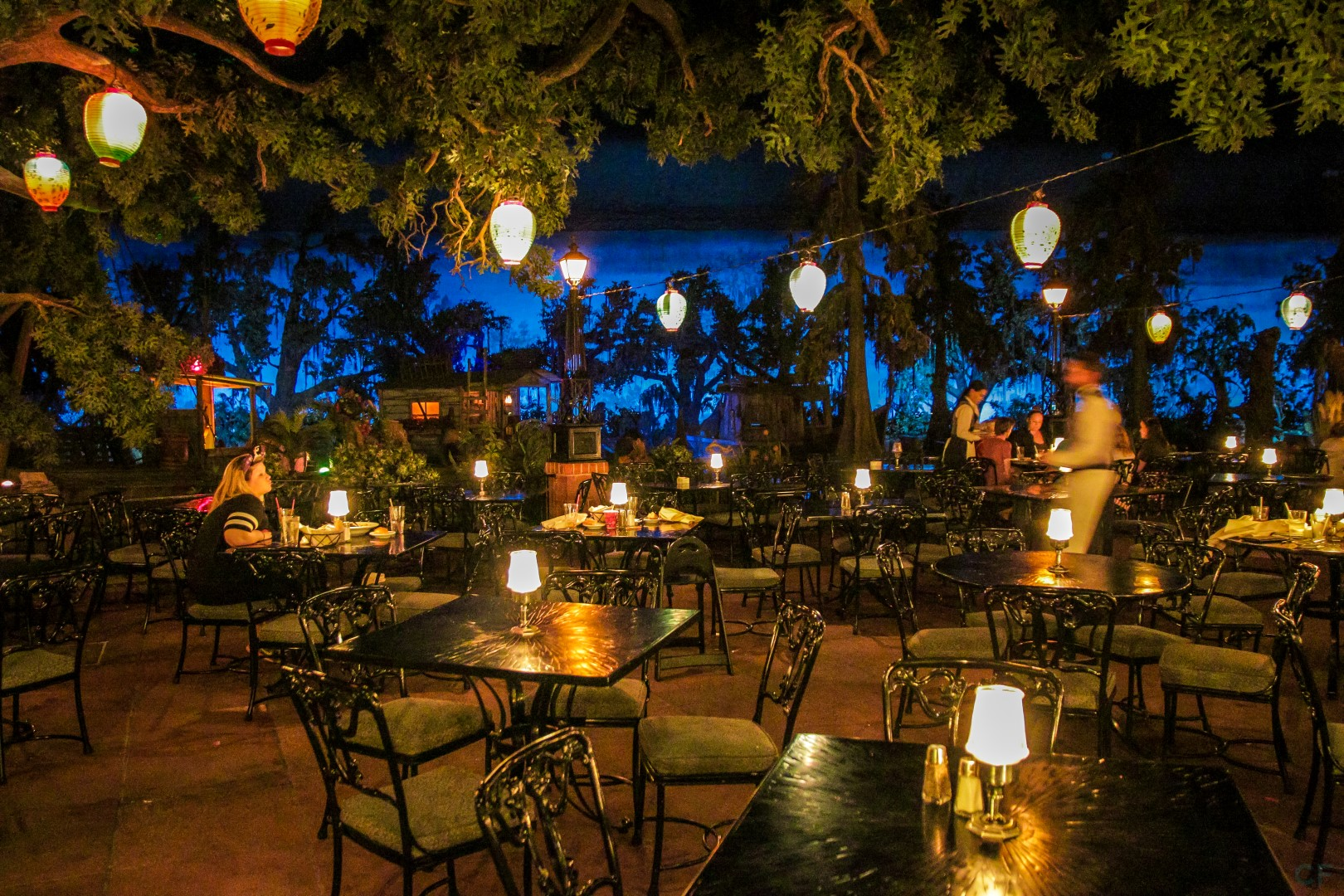 Blue Bayou at Disneyland